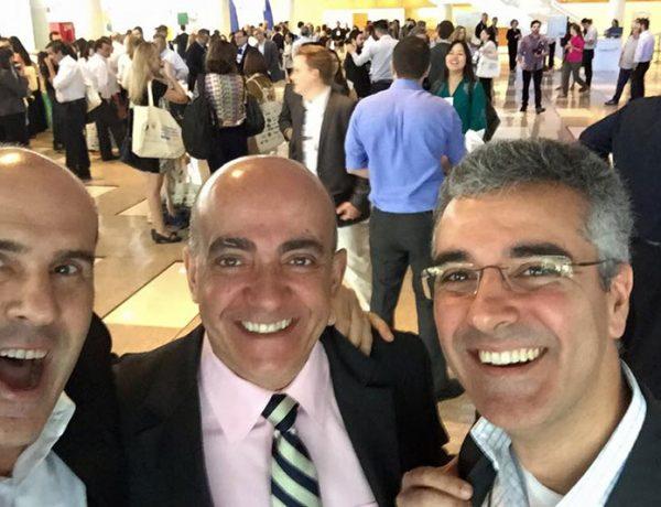 Reencontrando amigos no 8º Congresso Internacional de Foodservice ABIA 2015.