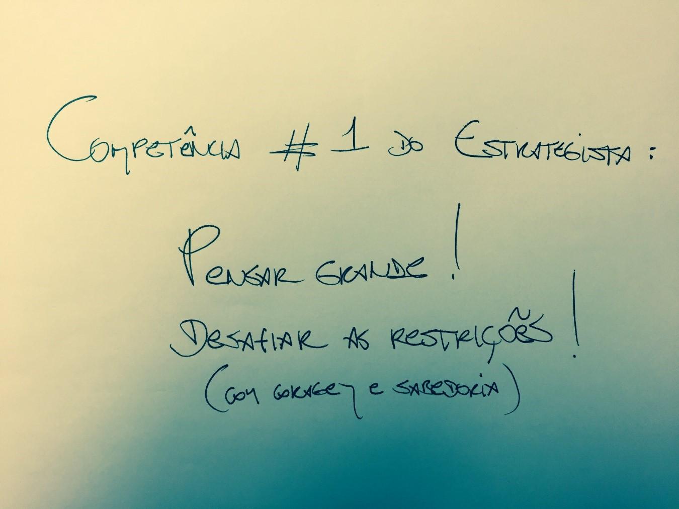 artigo 1 competencia do estrategista